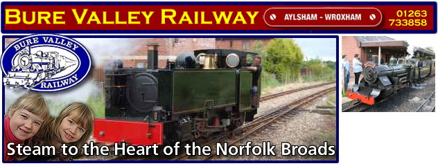 Visit Bure Valley Railway
